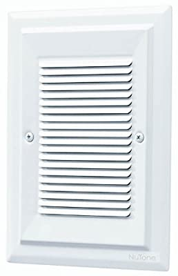 NuTone LA174WH Specialty Electronic Wired Recessed Westminster Door Chime
