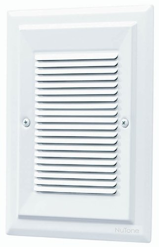 NuTone LA174WH Specialty Electronic Wired Recessed Westminster Door ...
