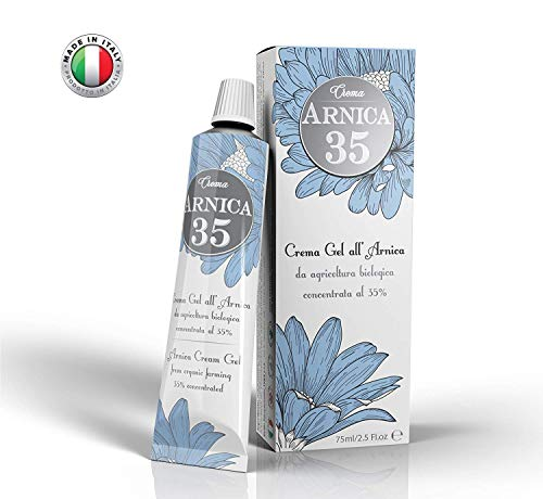 Arnica 35 - THE MOST CONCENTRATED - Arnica Gel Cream with a 35% concentration -Specific for Neck Pain