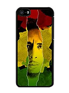 Hot Sale iPhone 5C Case ,Unique And Beautiful Designed iPhone 5C Case With Bob Marley Black Phone Case