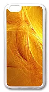 ACESR Golden Abstract Luxury iPhone 6 Cases, TPU Case for Apple iPhone 6 (4.7inch) Transparent by lolosakes