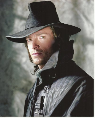 - 001 Van Helsing Hugh Jackman in Hat 8x10 Photo close up
