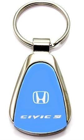 Llavero y llavero con logo de Honda Civic Si - azul Lágrima ...