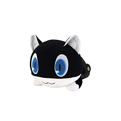 Persona5 Morgana Plush Toy Doll Cosplay Mona Stuffed Cushion (B): Toys & Games