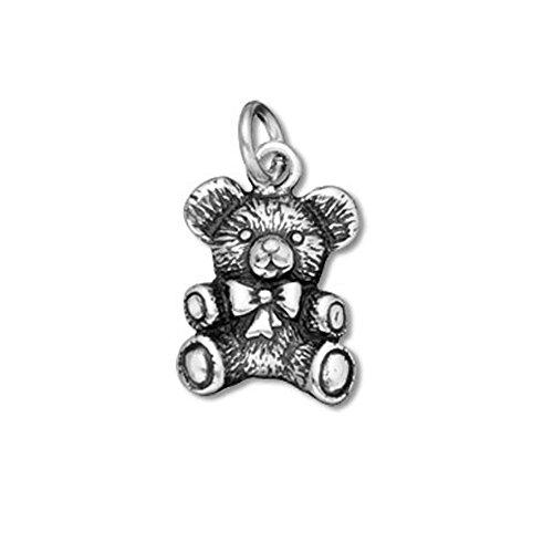 Sterling Silver Teddy Bear Charm Item #3534