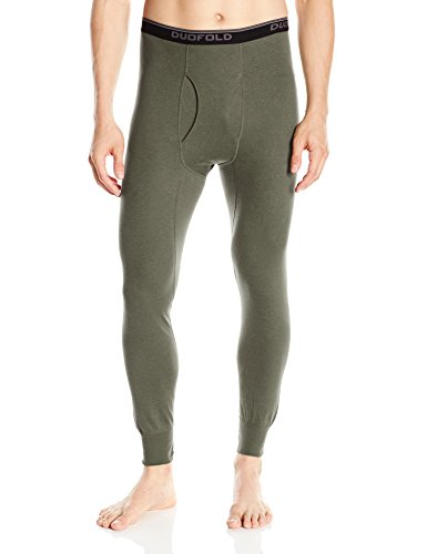 Duofold Men's Mid Weight Wicking Thermal Pant, Forest Grove, -