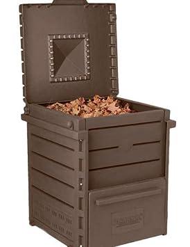 Deluxe pirámide Tacho, plástico reciclado para Compost