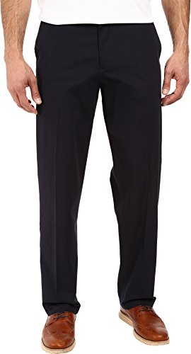 ure Stretch Relaxed Flat Front Dockers Navy 32 29 ()