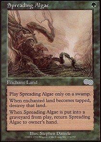 Algae Magic - Magic: the Gathering - Spreading Algae - Urza's Saga