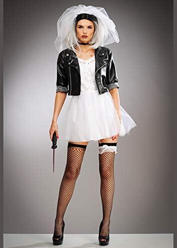 Magic Box Disfraz de Novia Chucky Style para Mujer Small (UK 8-10 ...