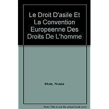 Le Droit D'asile Et La Convention Europeenne Des Droits De L'homme