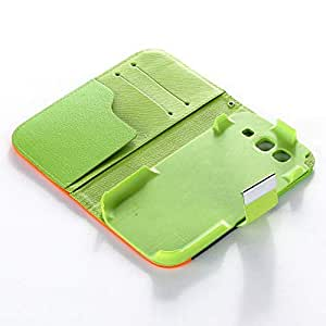 Hybrid Wallet PU Leather Case Flip Cover FOR SAMSUNG Galaxy S3 i9300