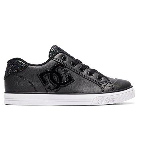 DC Shoes Girls Shoes Chelsea Se - 4 - Black Black Multi 4
