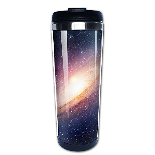Kooiico Astrology Astronomy Earth Moon Space Big Bang Solar System Planet Creation Elements Of This Image Coffee Mug Thermal Mugs With Easy Clean Lid 14-Ounce Mug by Kooiico