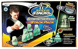 Speed Stacks Glow in the Dark Stack Pack Green by Play Along Speed Stacks