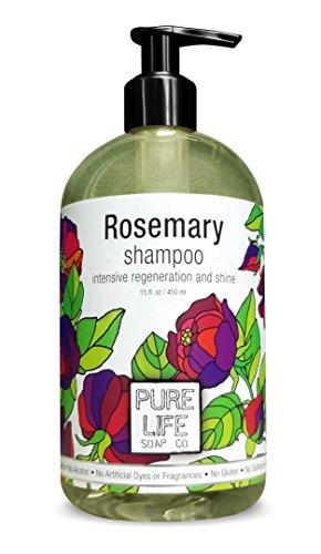 Pure Life Soap Co. - Rosemary Shampoo - 15 oz Co Lives