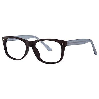 ca967812532 Freedom Unisex Eyeglasses - Modern Collection Frames - Black Blue Matte  50-16-