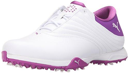 Puma Women's Blaze Golf Shoe - White/Orchid Bloom/Patent ...