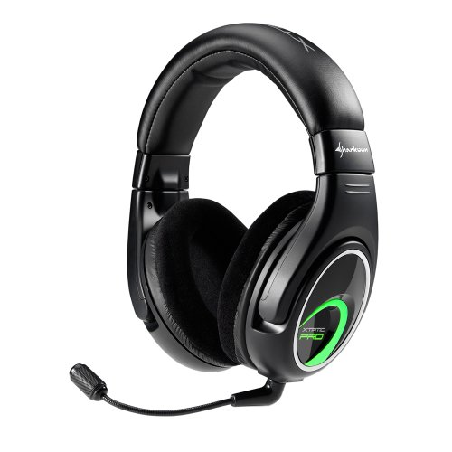 Amazon.com: Sharkoon Xtatic Pro Real 5.1 Gaming Headset for PS4, Xbox 360, PS3, and PC: Video Games