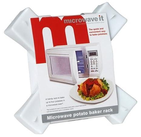 Microwave it Pendeford Molde para asar patatas en el microondas ...
