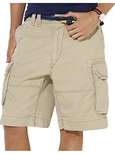 UPC 889043185444, Polo Ralph Lauren Men's Gellar Fatigue Cargo Shorts 31 Hudson Tan