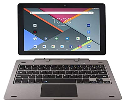 Astro Tab G10 10 Inch Quad Core Android 8.1 Tablet PC with Detachable Keyboard, HD IPS Display 1280 x 800, 1GB RAM, 16GB Storage, Bluetooth 4.0, 10 inch Screen, Google Play (GMS & FCC Certified)