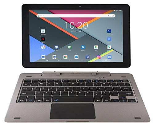 Astro Tab G10 10 Inch Quad Core Android 8.1 Tablet PC with Detachable Keyboard, HD IPS Display 1280 x 800, 1GB RAM, 16GB Storage, Bluetooth 4.0, 10 inch Screen, Google Play (GMS & FCC Certified) (Best Chinese Tablet Pc)
