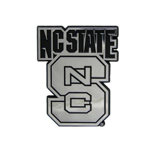 Team ProMark NCAA North Carolina State Wolfpack Chrome Automobile Emblem