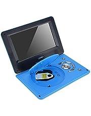 Auto dvd-speler Draagbare multifunctionele high-definition dvd-speler met draaischerm en 9,8 inch scherm(EU-stekker)