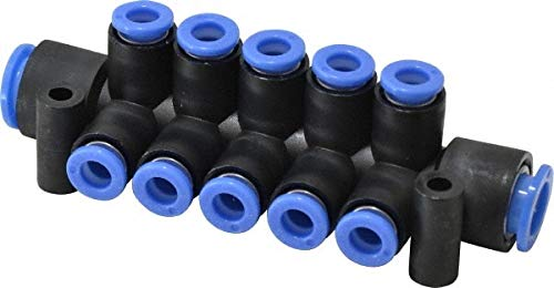 10'' Inlet, 6'' Outlet, Composite & PBT Manifold pack of 3