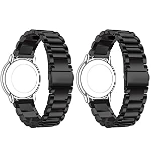 Amazon.com : ECSEM 2pcs for Mens Moto 360 2 42mm Bands ...