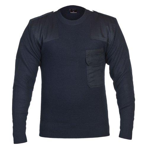 Mfh Policrilo Classico Pullover Di Armate Tedesco Forze Federali Blu O8vN0wymnP