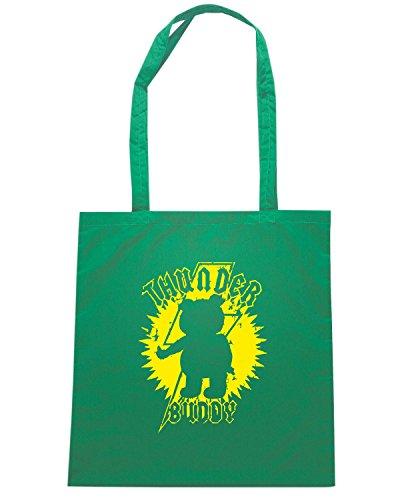 T-Shirtshock - Bolsa para la compra TF0094 inspired by Ted Verde