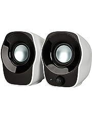 Logitech Stereo Speakers Z120, Głośniki Komputerowe, Zasilane Przez Usb Głośniki Z120, Usb, Pc/Mac - Biały,980-000513