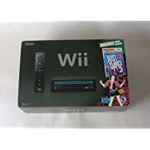 Nintendo Wii Console with Just Dance 3 Bundle - Black