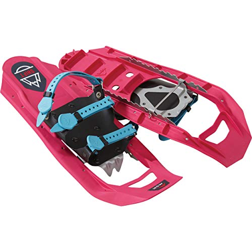(MSR Shift Youth Snowshoes for Teens and Young Adults (Pair), Electric Pop Pink)