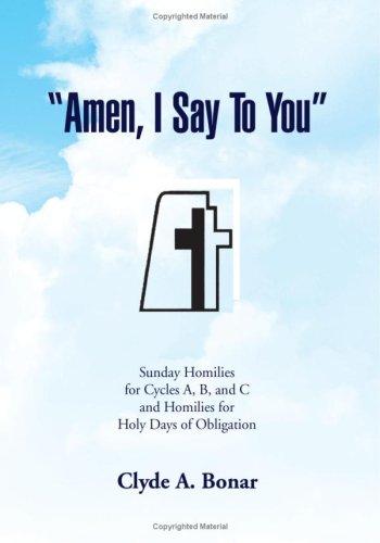 Read Online ''Amen, I Say to You'' pdf epub