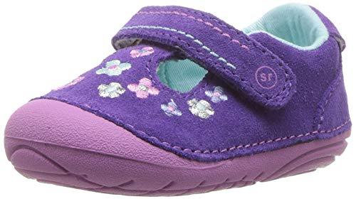 Stride Rite Girls' SM Tonia Sneaker, Purple, 3 M US Infant