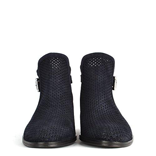 Azul Botines Zapatos B Mujer de Elia Urbanite Ante Azul 7axwn8Aq