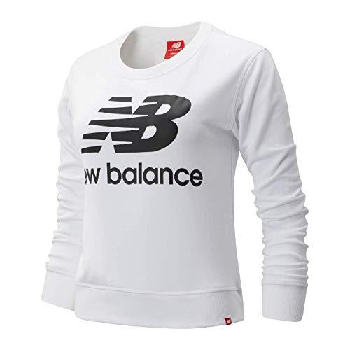 New Balance Damen Sweatshirt mit Rundhalsabschnitt Essentials Crew