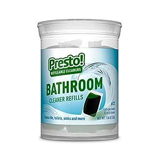 Presto! by Amazon: Bathroom Cleaner Refills 6-pack (makes 6 bottles of Presto! cleaner), Refill, reuse, reduce