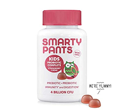 SmartyPants Kids Probiotic Complete, Strawberry Crème, 45 Count