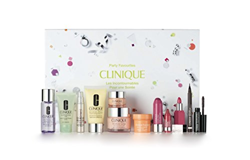 Clinique Party Favorites Collection Box Gift Set (12 piece set) Pop Beauty Lid Collection