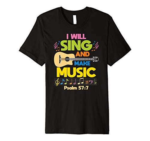 Christian Music Church Singer Guitar Jesus Rock Band T-Shirt