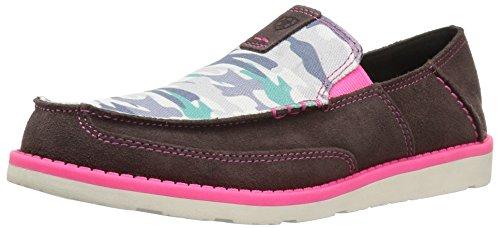- Kids' Cruiser Slip-on Shoe, Aged Coffee Suede, 1 M US Little Kid