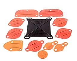 Jaz Products 730-004-01 Small Block Engine Brodix Block-Off Kit For Holley Carburetor #4150