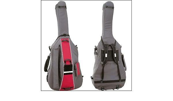 Ortola 3025-001 - Funda contrabajo 3/4 con ruedas, color negro: Amazon.es: Instrumentos musicales