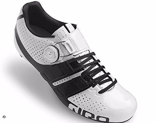 Giradischi Techlace Bianco Nero Da Donna Bici Da Corsa Misura 38,5