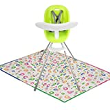 Phil Teds Poppy High Chair - Lime with Splat Matt