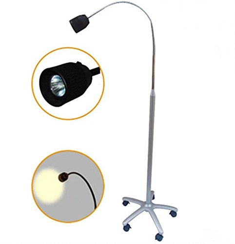 SoHome 35W Medical Floor-standing Exam Lamp Halogen Shadowless Examination Light (Halogen Exam Light)